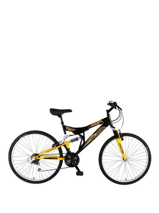 Flite Taser 18-Speed Dual Suspension Mens Mountain Bike 18 inch ...