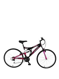 Flite Taser Dual Suspension Ladies Mountain Bike 18 inch Frame