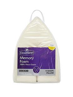 Downland Memory Foam V-Shaped Pillow