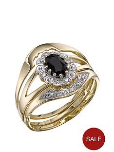 love-gem-9-carat-yellow-gold-sapphire-and-diamond-bridal-set