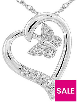sterling-silver-5-point-diamond-heart-and-butterfly-pendant