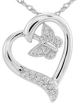the-love-silver-collection-sterling-silver-5-point-diamond-heart-and-butterfly-pendant