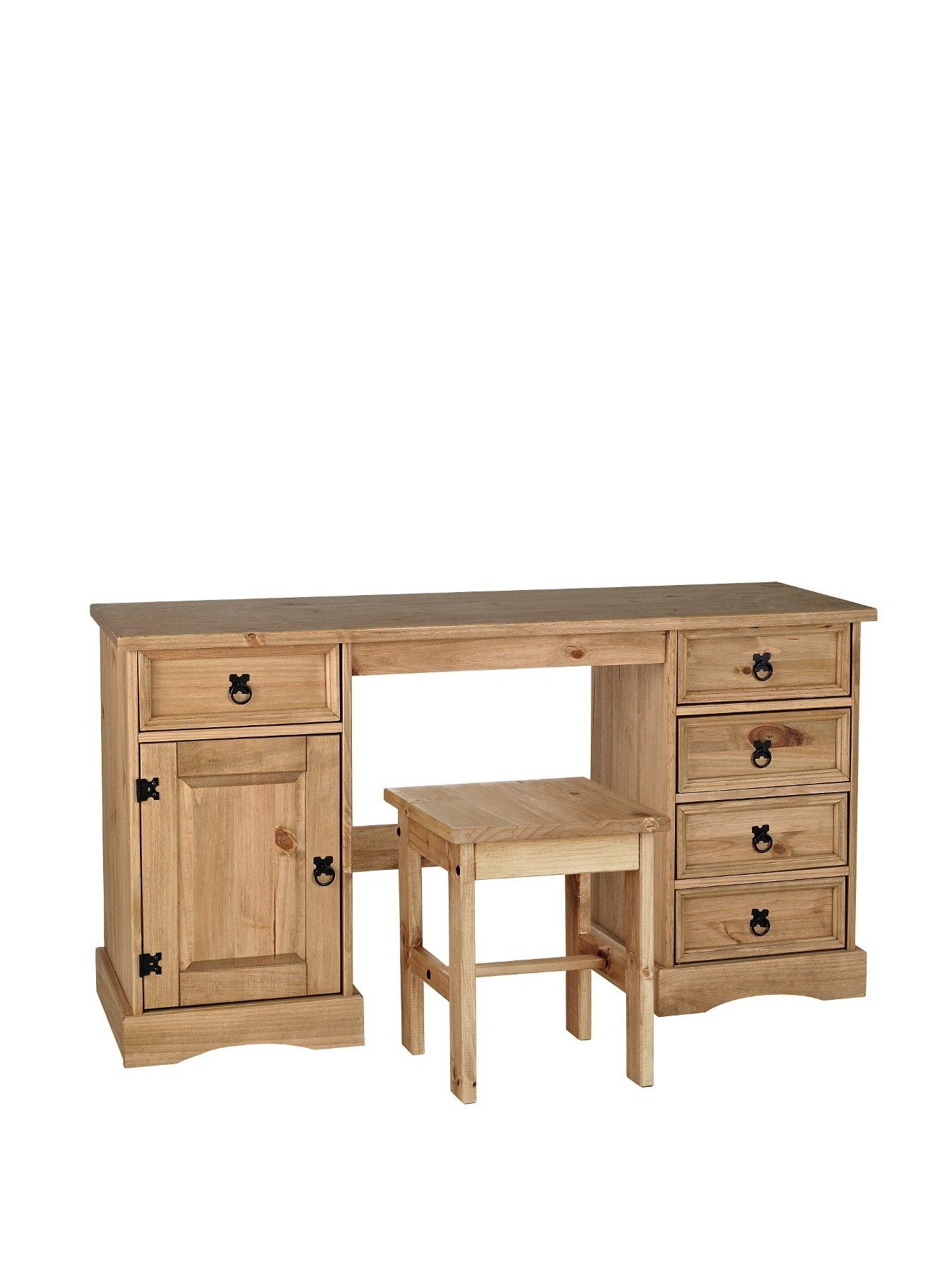 Pine Bedroom Stool Bedroom Dressing Tables 112 Scale Gorgeous Clothing Closet With