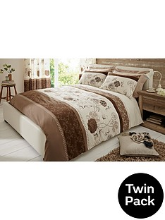 fern-twin-pack-easy-care-duvet-cover-set
