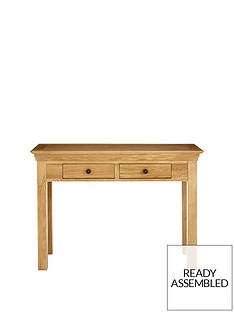 ideal-home-constance-oak-2-drawer-console-table