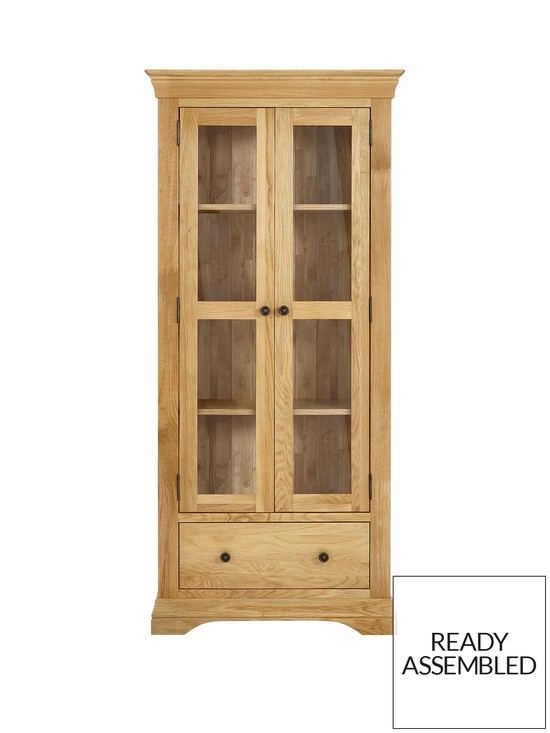 Luxe Collection Luxe Collection Constance Oak Ready Assembled