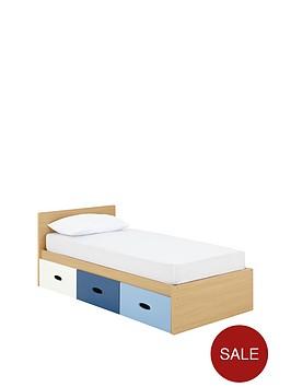 Ladybird Harley Kids Single Storage Bed With Optional