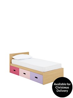 ladybird-harley-kids-single-storage-bed-with-optional-mattress