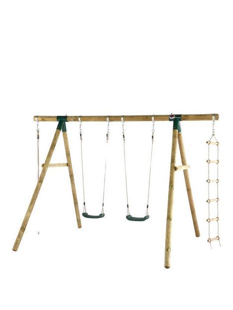 plum-gibbon-wooden-garden-swing-set