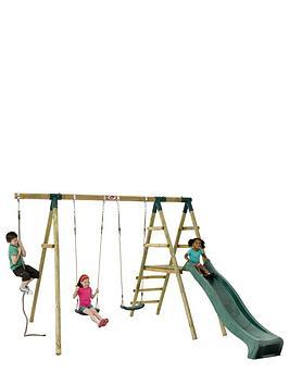 plum-giant-baboon-wooden-garden-swing-set