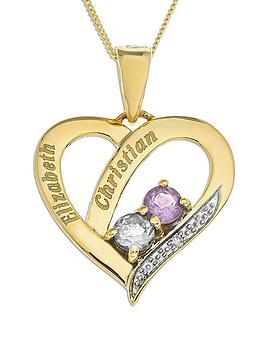 love-gold-personalised-9-carat-yellow-gold-stone-set-heart-pendant