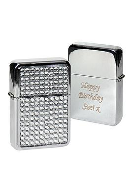 personalised-diamanteacute-lighter