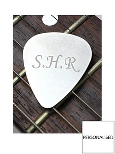 personalised-silver-guitar-plectrum