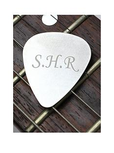 the-personalised-memento-company-personalised-silver-guitar-plectrum