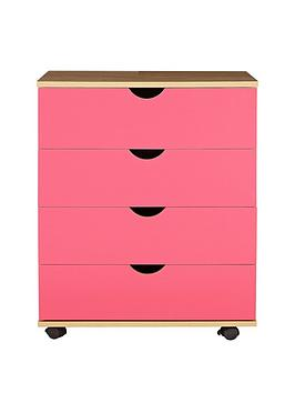 Milo Kids Chest Of 4 Drawers