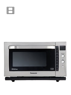 panasonic-27-litre-combination-microwave-oven-amp-grill-with-flatbed-nn-cf778bpq