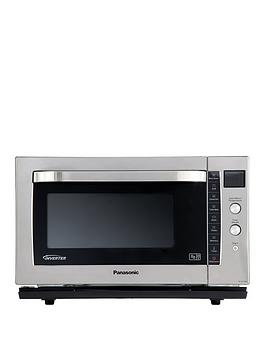 panasonic-nn-cf778bpq-27-litre-combination-microwave-oven-amp-grill-with-flatbed