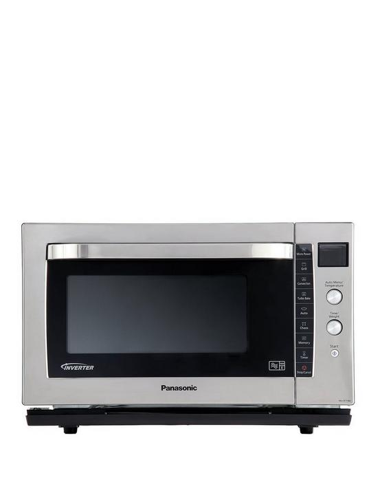 NN-CF778BPQ 27-Litre Combination Microwave, Oven & Grill with Flatbed
