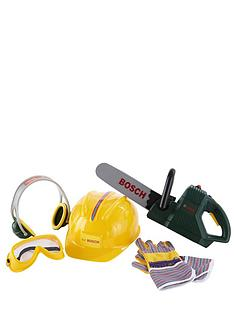 bosch-chainsaw-helmet-and-work-gloves