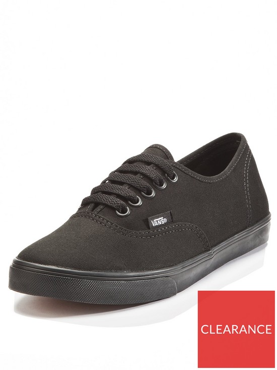 491dcb4e6de Vans Authentic Lo Pro Plimsolls