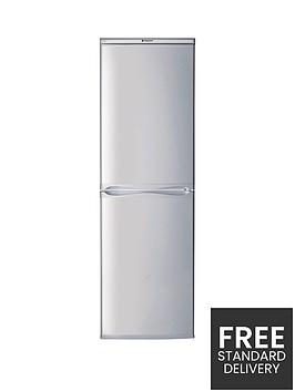 hotpoint-first-edition-hbd5517snbsp55cm-fridge-freezernbspa-energy-rating-silver