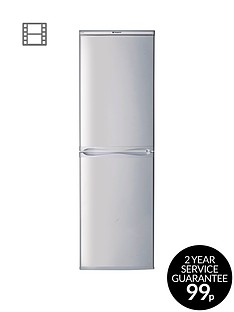 hotpoint-first-edition-rfaa52s-55cm-fridge-freezernbspa-energy-rating-silver