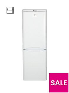 Indesit NCAA55 55cm Fridge Freezer - White