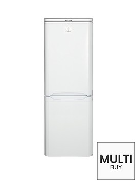 indesit-ncaa55-55cm-fridge-freezer-white