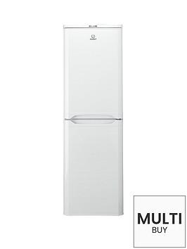 indesit-caa55-55cm-fridge-freezer-whitebr-a-energy-rating