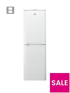 indesit-caa55-55cm-fridge-freezer-with-a-energy-rating-white