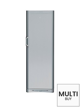 indesit-siaa12s-60cm-tall-fridge-silver