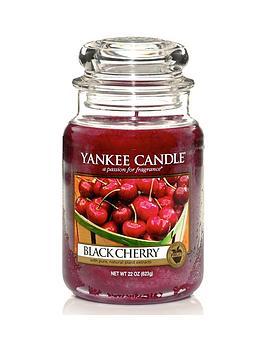 Yankee Candle Large Jar - Black Cherry thumbnail
