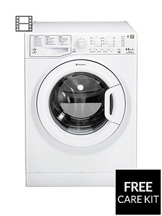 Hotpoint Aquarius WDAL8640P 1400 Spin, 8kg Wash, 6kg Dry Washer Dryer - White
