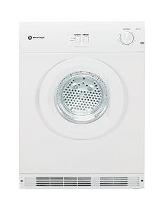 White Knight C44A7W 7kg Load Vented Dryer - White
