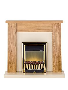 adam-fire-surrounds-new-england-ivory-electric-fireplace-suite-with-brass-inset-fire