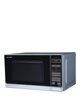Sharp R272Slm 20-Litre Solo Microwave - Silver