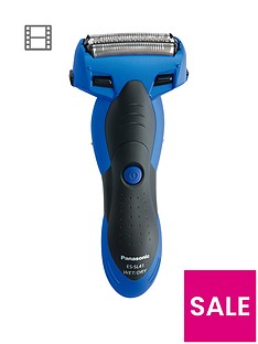 panasonic-es-sl41-a511-cordless-milano-3-blade-wet-and-dry-shaver-with-arc-foil-blue