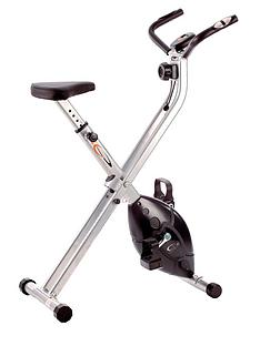 V-Fit Folding X-Frame Cycle Exercise Bike