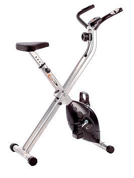 V-Fit Folding X-Frame Cycle Exercise Bike