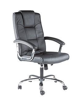 alphason-houston-leather-office-chair