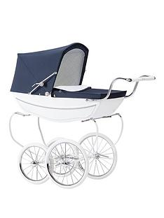 silver-cross-oberon-dolls-pram-white-with-optional-personalisation