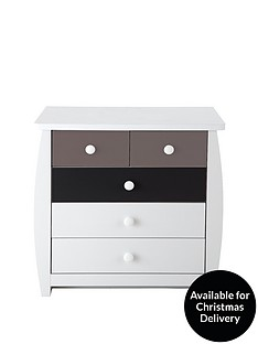 Ladybird Orlando Fresh Kids 3 + 2 Chest of Drawers