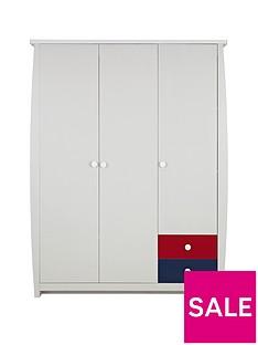 ladybird-orlando-fresh-3-door-2-drawer-kids-wardrobe