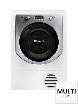 hotpoint-aqualtis-aqc9bf7e1-9kg-load-condenser-tumble-dryer-white