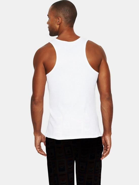 Emporio Armani Bodywear Mens Logo Vest  ebd3433f59f