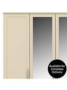 oslo-5-door-3-drawer-mirrored-wardrobe