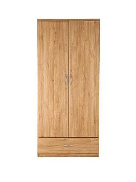 peru-2-door-1-drawer-wardrobe