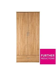 peru-2-door-1-drawer-wardrobe