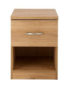 Peru 1-Drawer Bedside Chest
