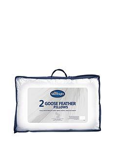 Silentnight Goose Feather Pillows (2 Pack)
